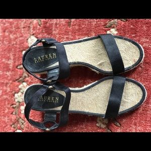 Ralph Lauren 8.5 Wedge Sandals
